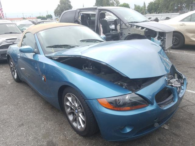 BMW Z4 2.5 salvage cars for sale: 2003 BMW Z4 2.5