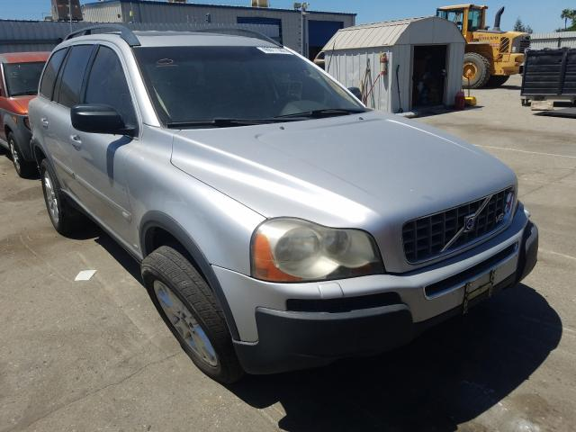 Salvage cars for sale from Copart Bakersfield, CA: 2005 Volvo XC90 V8