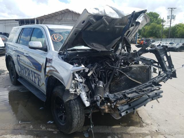 Chevrolet Tahoe Police salvage cars for sale: 2016 Chevrolet Tahoe Police