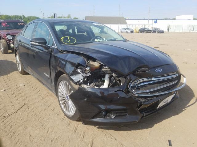 Ford salvage cars for sale: 2013 Ford Fusion Titanium