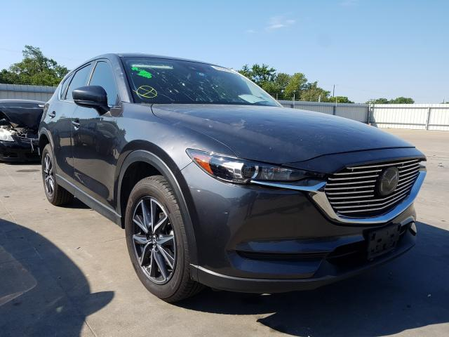 Salvage cars for sale from Copart Wilmer, TX: 2018 Mazda CX-5 Touring