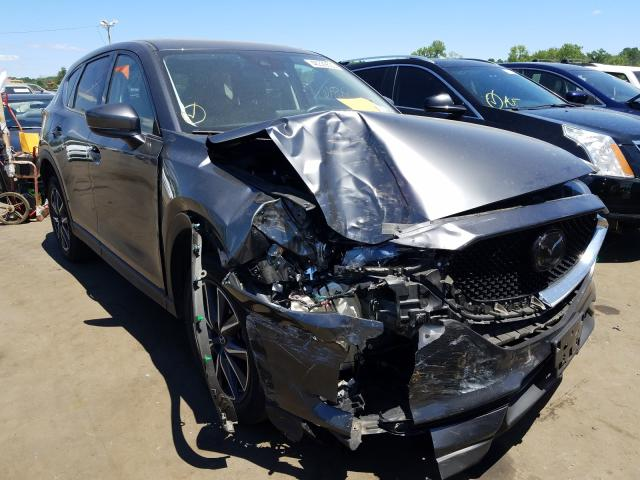 Mazda CX-5 Grand Touring salvage cars for sale: 2018 Mazda CX-5 Grand Touring