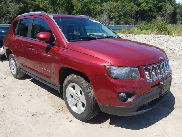 Jeep Compass LA salvage cars for sale: 2016 Jeep Compass LA
