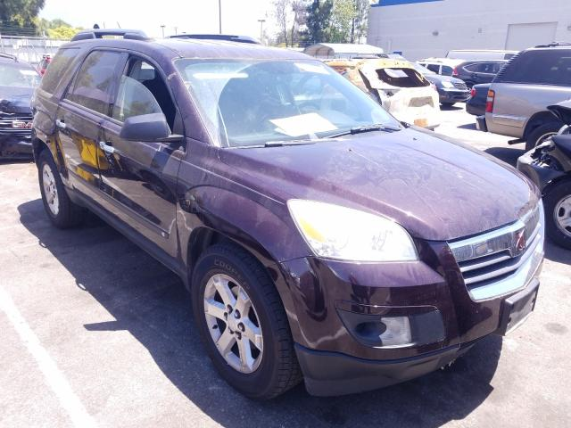 Saturn salvage cars for sale: 2008 Saturn Outlook XE