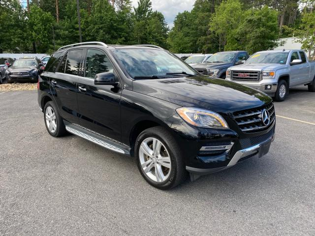 Mercedes-Benz ML 350 BLU salvage cars for sale: 2013 Mercedes-Benz ML 350 BLU