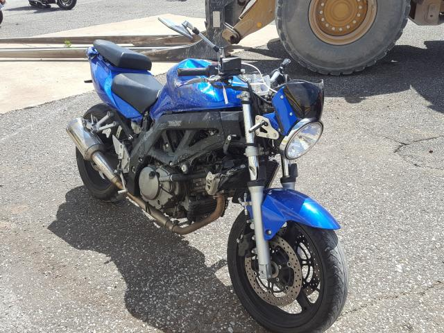 Suzuki SV650 salvage cars for sale: 2007 Suzuki SV650