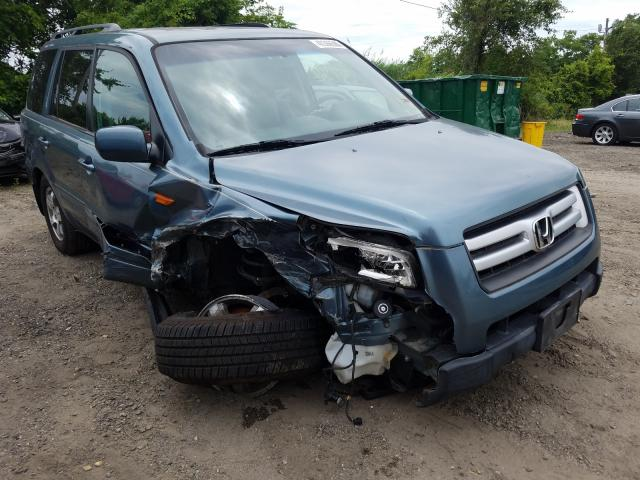 Honda Pilot EXL salvage cars for sale: 2008 Honda Pilot EXL