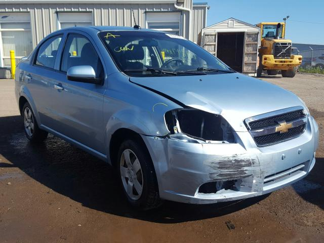 Salvage cars for sale from Copart Atlantic Canada Auction, NB: 2011 Chevrolet Aveo LT