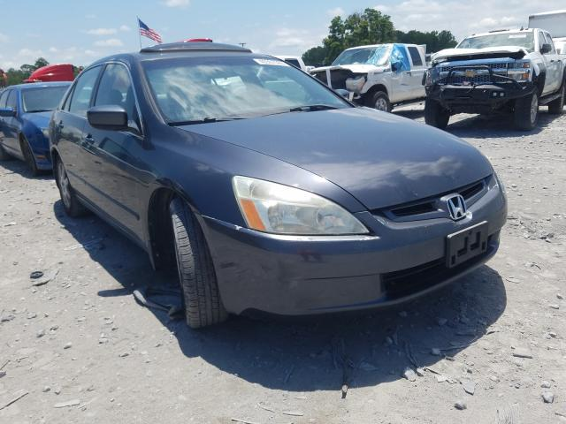 Honda Accord EX salvage cars for sale: 2005 Honda Accord EX