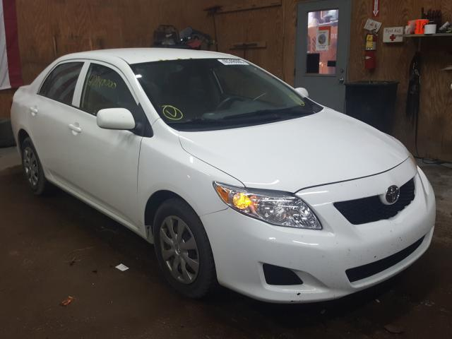 Salvage cars for sale from Copart Kincheloe, MI: 2009 Toyota Corolla BA