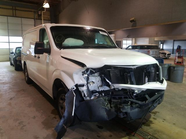 Salvage cars for sale from Copart Sandston, VA: 2012 Nissan NV 1500
