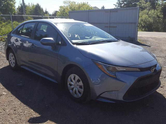 Salvage cars for sale from Copart Cow Bay, NS: 2020 Toyota Corolla LE