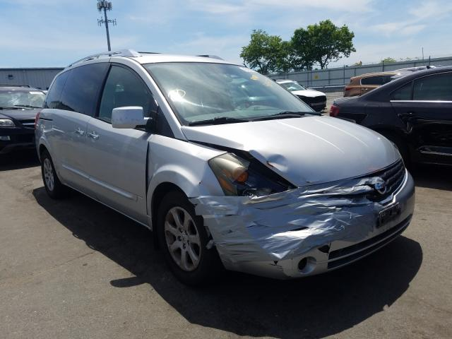 Nissan Quest S salvage cars for sale: 2007 Nissan Quest S