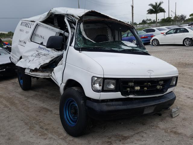 Salvage cars for sale from Copart West Palm Beach, FL: 1995 Ford Econoline