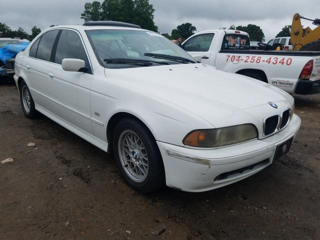 BMW 525 I Automatic salvage cars for sale: 2001 BMW 525 I Automatic