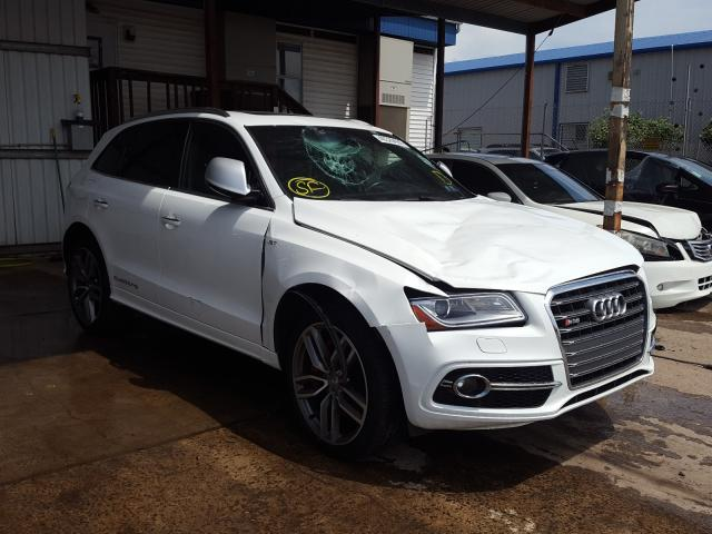 Audi SQ5 Prestige salvage cars for sale: 2016 Audi SQ5 Prestige