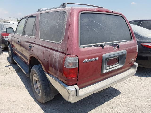 2000 TOYOTA 4RUNNER - Right Front View