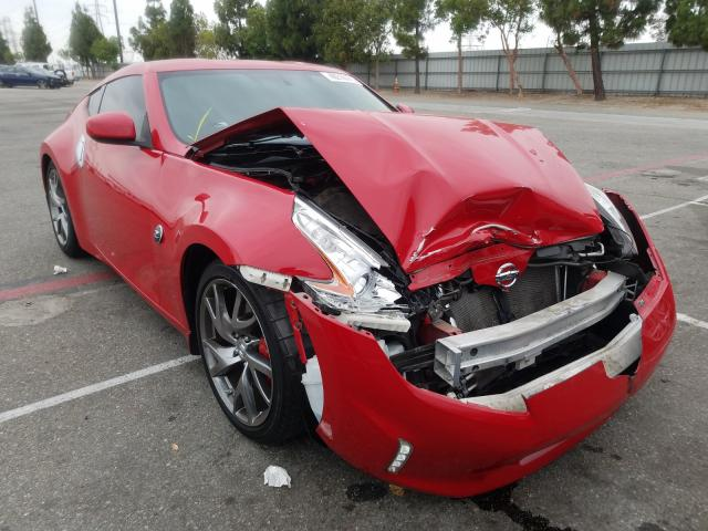 Salvage cars for sale from Copart Rancho Cucamonga, CA: 2016 Nissan 370Z Base