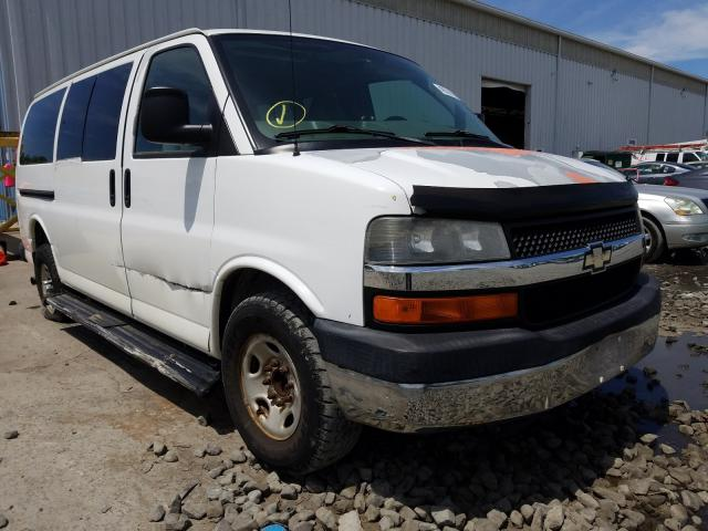 Chevrolet Express G3 salvage cars for sale: 2007 Chevrolet Express G3