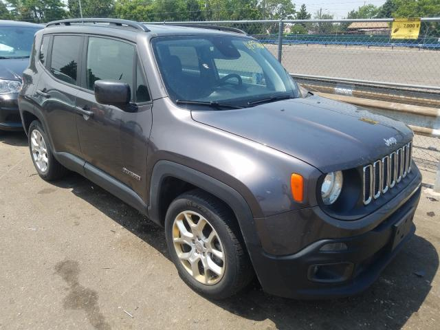 Jeep salvage cars for sale: 2018 Jeep Renegade L