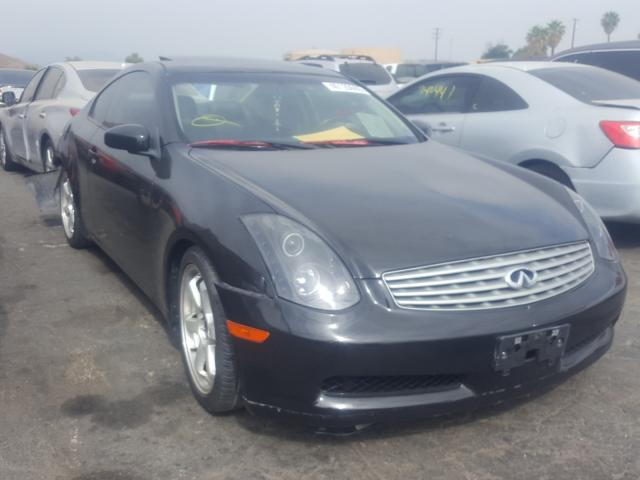 Salvage cars for sale from Copart Colton, CA: 2003 Infiniti G35