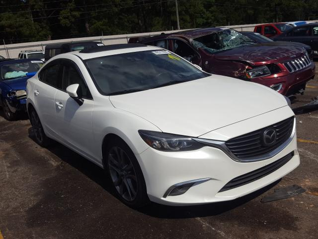 Mazda salvage cars for sale: 2016 Mazda 6 Grand Touring
