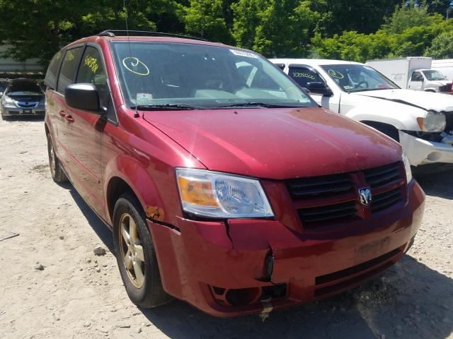 Salvage cars for sale from Copart Mendon, MA: 2010 Dodge Grand Caravan