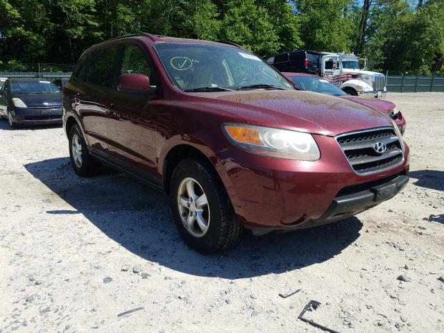 Salvage cars for sale from Copart Candia, NH: 2007 Hyundai Santa FE G