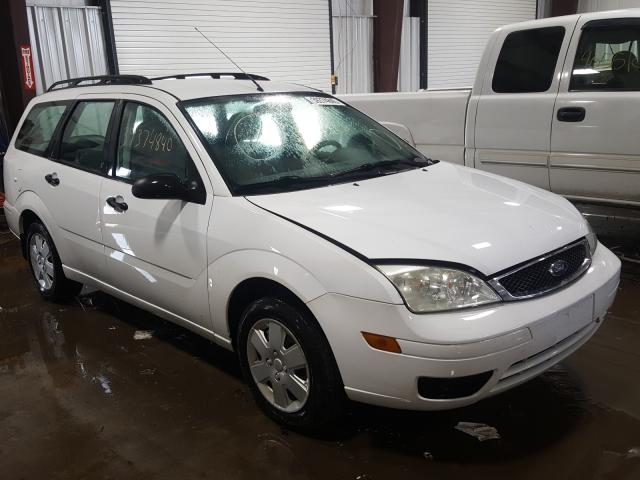 Ford Focus ZXW salvage cars for sale: 2007 Ford Focus ZXW