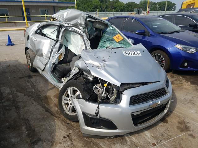 Salvage cars for sale from Copart Lebanon, TN: 2014 Chevrolet Sonic LT