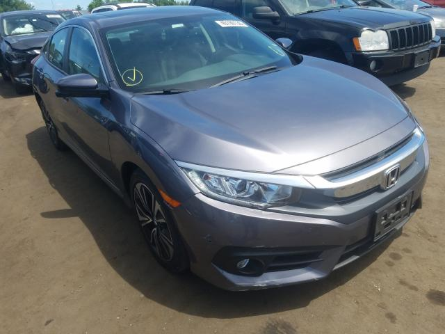 Honda Civic EXL salvage cars for sale: 2017 Honda Civic EXL