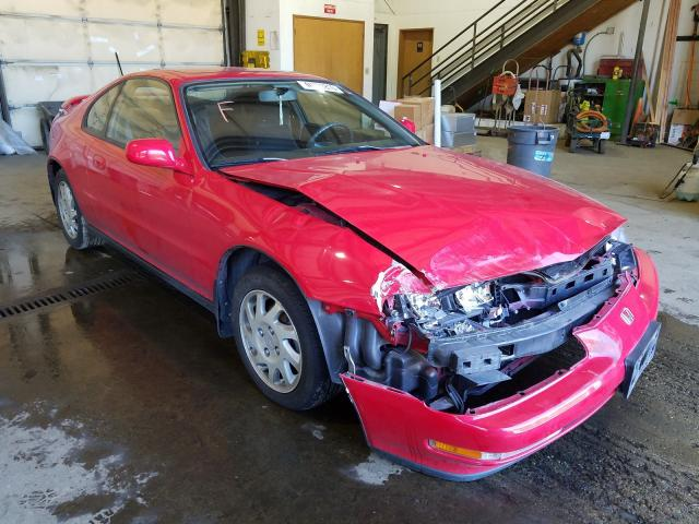 Salvage cars for sale from Copart Graham, WA: 1994 Honda Prelude SI