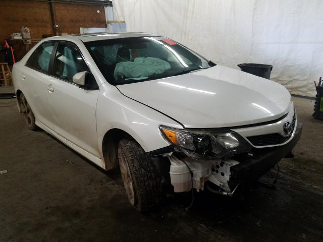 Salvage cars for sale from Copart Ebensburg, PA: 2012 Toyota Camry Base