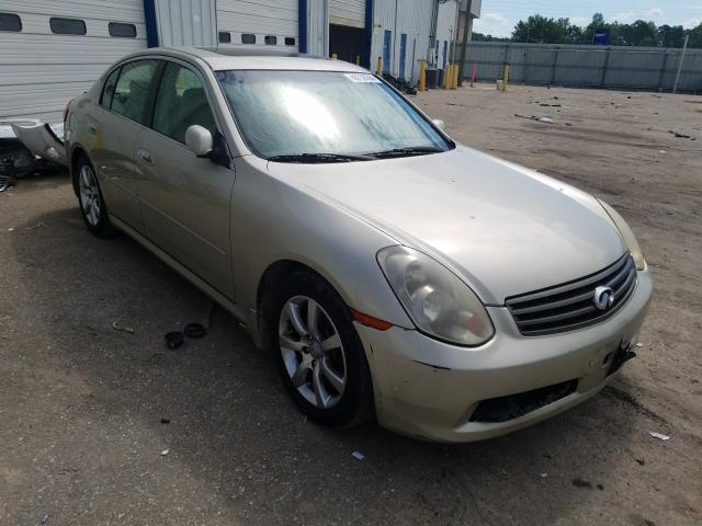 Infiniti salvage cars for sale: 2005 Infiniti G35