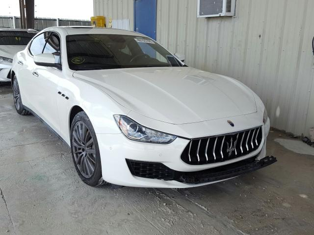 Maserati salvage cars for sale: 2018 Maserati Ghibli