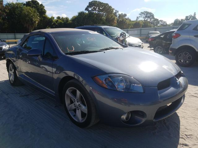 Salvage cars for sale from Copart Fort Pierce, FL: 2007 Mitsubishi Eclipse SP