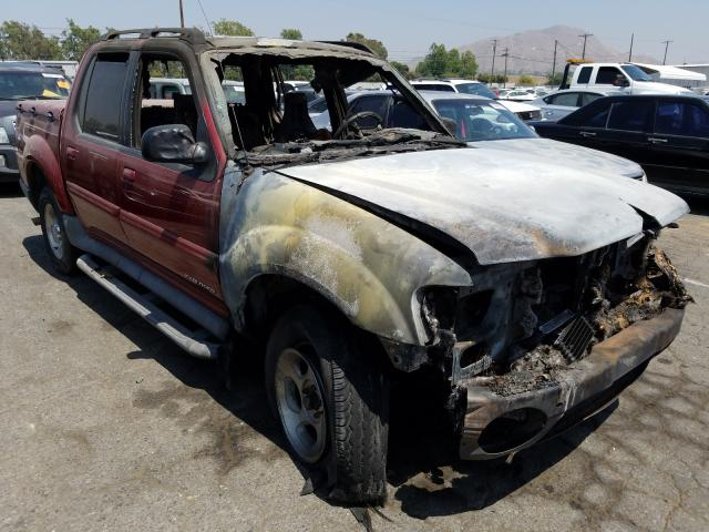 Ford Explorer S salvage cars for sale: 2002 Ford Explorer S