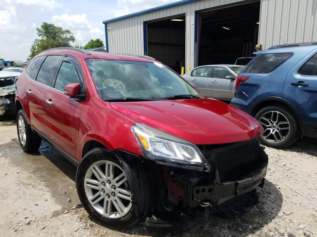Salvage cars for sale from Copart Sikeston, MO: 2013 Chevrolet Traverse L