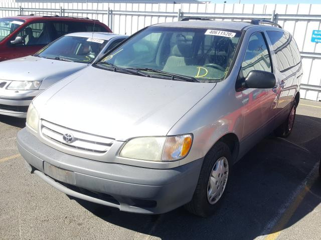 dlr dis exp ct others acq 2003 toyota sienna sports v 3 0l for sale in vallejo ca 40611520 a better bid car auctions