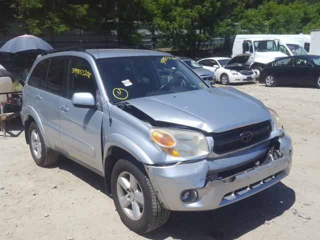 Salvage cars for sale from Copart Mendon, MA: 2004 Toyota Rav4