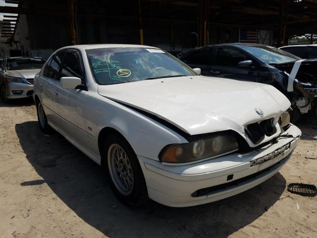BMW 525 I Automatic salvage cars for sale: 2002 BMW 525 I Automatic