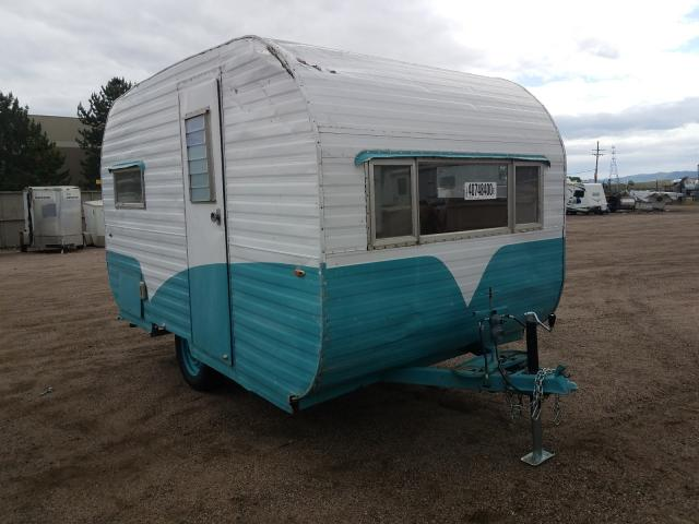 Other salvage cars for sale: 1961 Other Travel Trailer