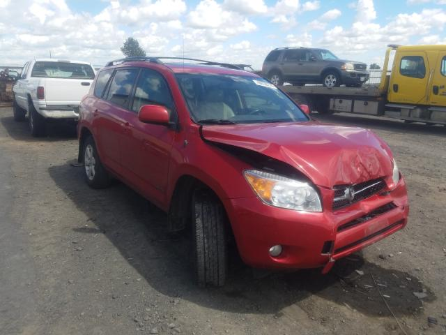 Salvage cars for sale from Copart Airway Heights, WA: 2008 Toyota Rav4 Limited