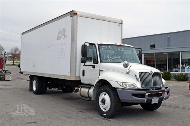 International salvage cars for sale: 2008 International 4000 4300