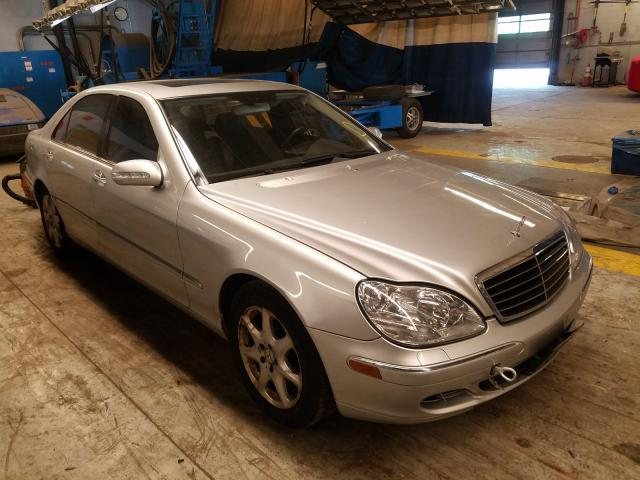 Mercedes-Benz S 430 4matic salvage cars for sale: 2006 Mercedes-Benz S 430 4matic
