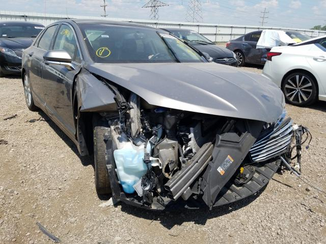 Lincoln MKZ Hybrid salvage cars for sale: 2015 Lincoln MKZ Hybrid