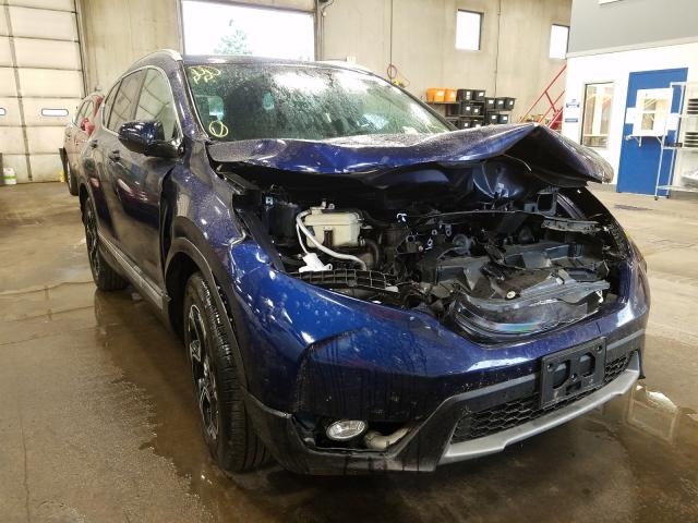 Honda CR-V Touring salvage cars for sale: 2019 Honda CR-V Touring