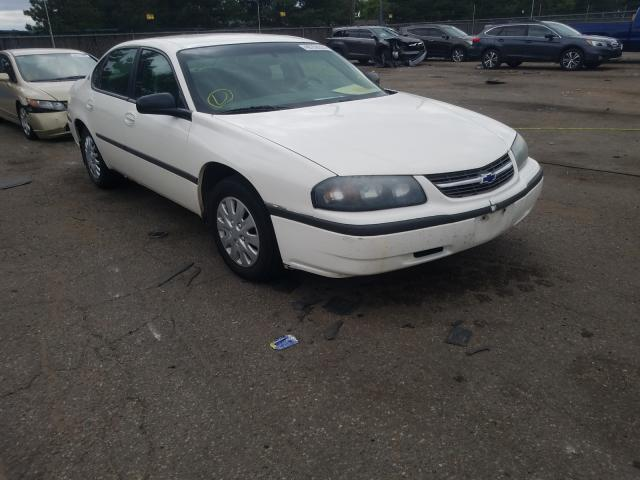 Chevrolet Impala salvage cars for sale: 2003 Chevrolet Impala