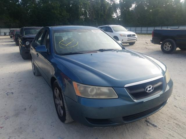 Salvage cars for sale from Copart Ocala, FL: 2006 Hyundai Sonata GL