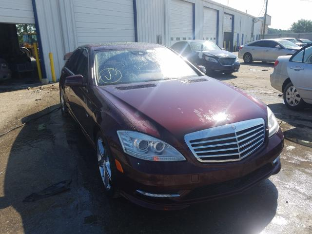 Mercedes-Benz salvage cars for sale: 2010 Mercedes-Benz S 550